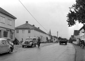 Fannrem sentrum 1962