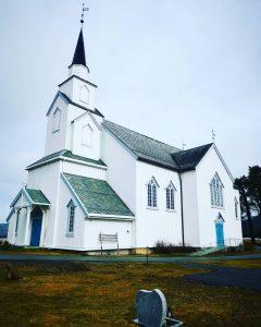 Moe kirke april 2021 foto KR