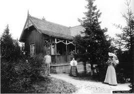 Lisbetsæter hytte foto NTNU Ubiblioteket